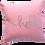 Thumbnail: Small silkscreen linen cushion