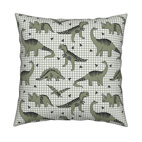 White dinosaur cushion