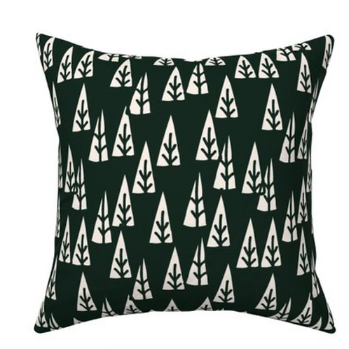 Cushion trees black