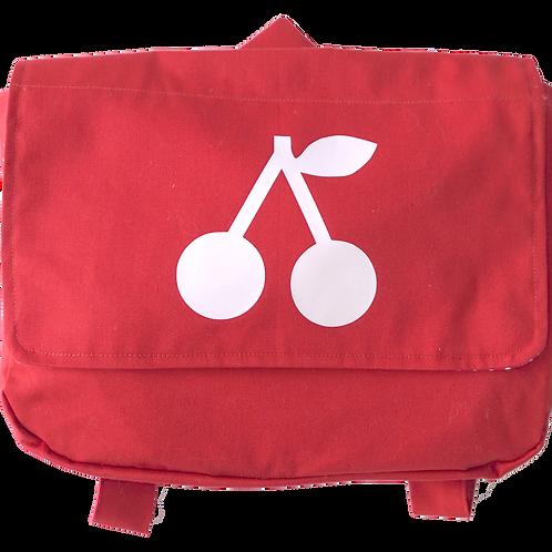 Schoolbag red