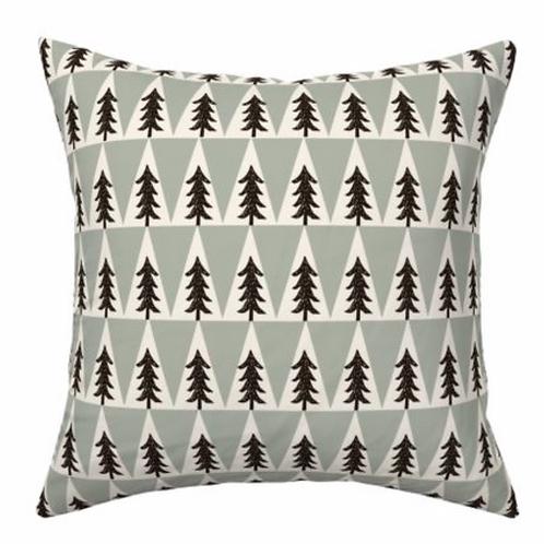 Cushion firs green