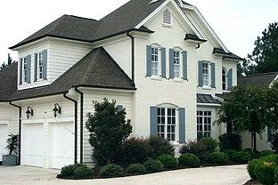 houses-with-white-trim-tan-brick-house-w