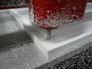 CNC Machine close up