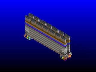 3D Model for building coke blocks