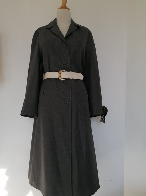 Trench coat gris anthracite