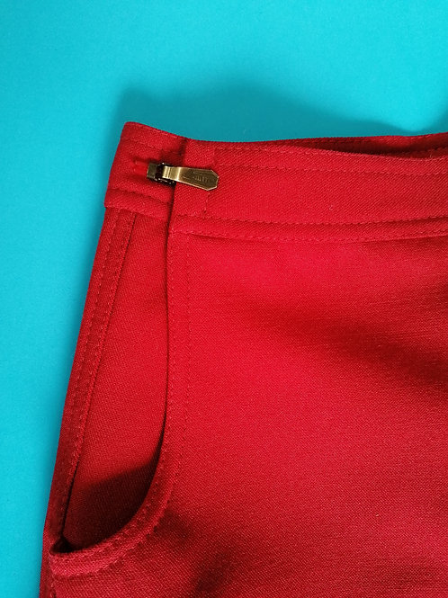 Pantalon flare réglable