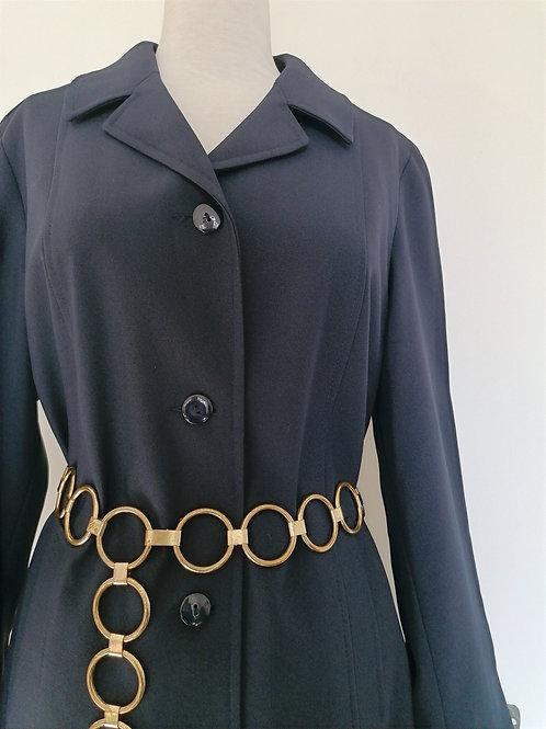 Trench coat bleu marine