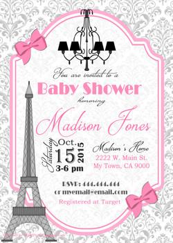 Paris Baby Shower1