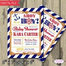 Ahoy baby Shower Blue9 sample