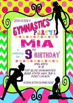 Gymnastics Party 1 Tabatha Salazar