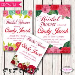 Bridal Shower Flower Sample1