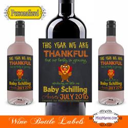 Wine Baby Shower Thanksgiving Sample2