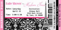 Paris Baby Shower Ticket Invite2