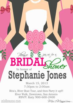 Bridal ShowerMums 6 Invite