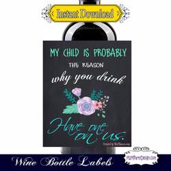 Teacher 1 Wine BlackFlower Sample