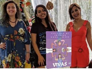 Coletivo feminino lança 'Escritoras Vivas' neste sábado (17)