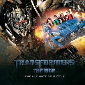 Transformers of Universal Studio in singapore