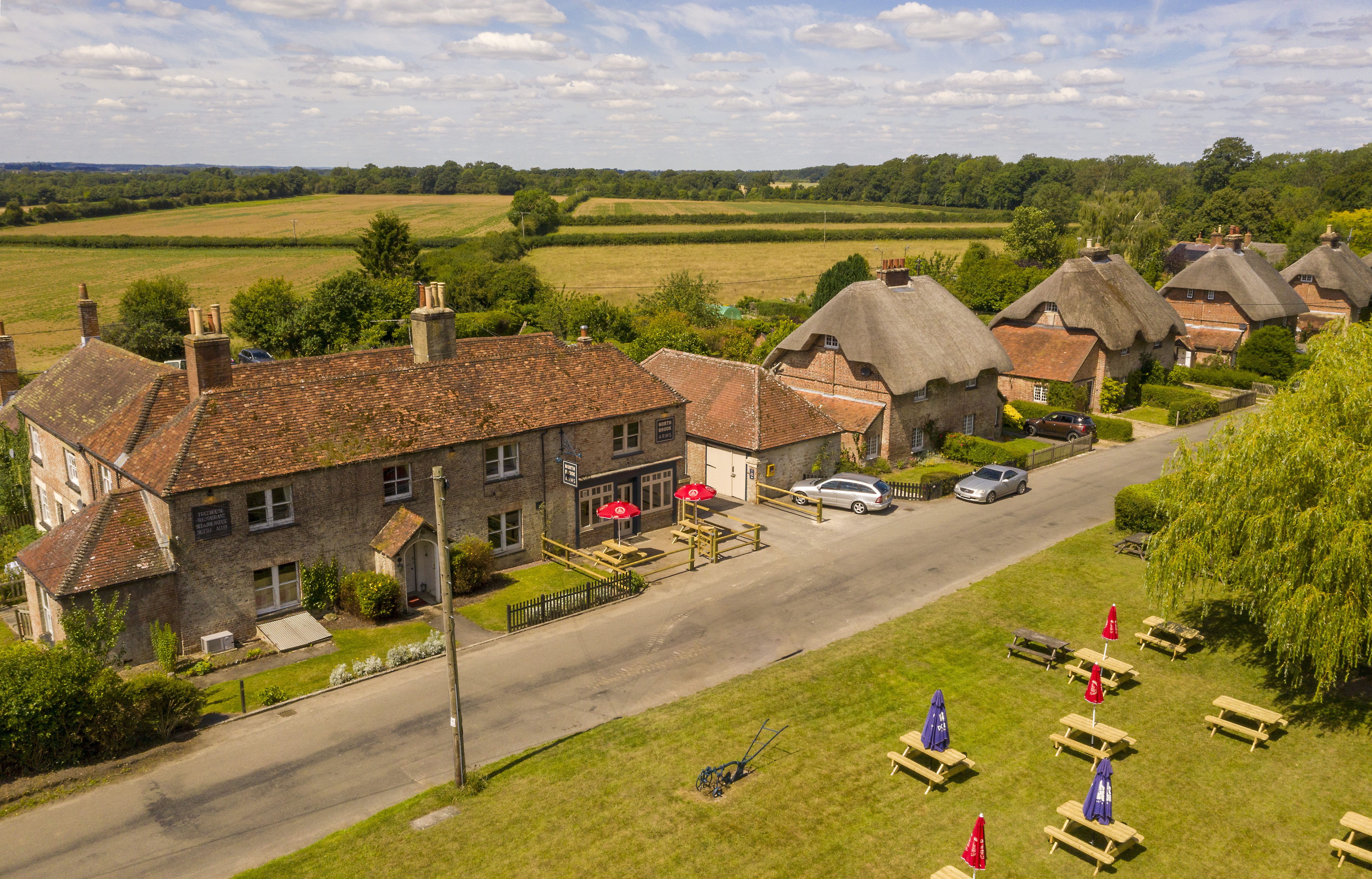 Pub and Cottages