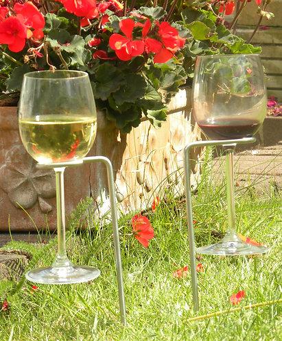Steady Sticks Hands Free Wine Glass Holders