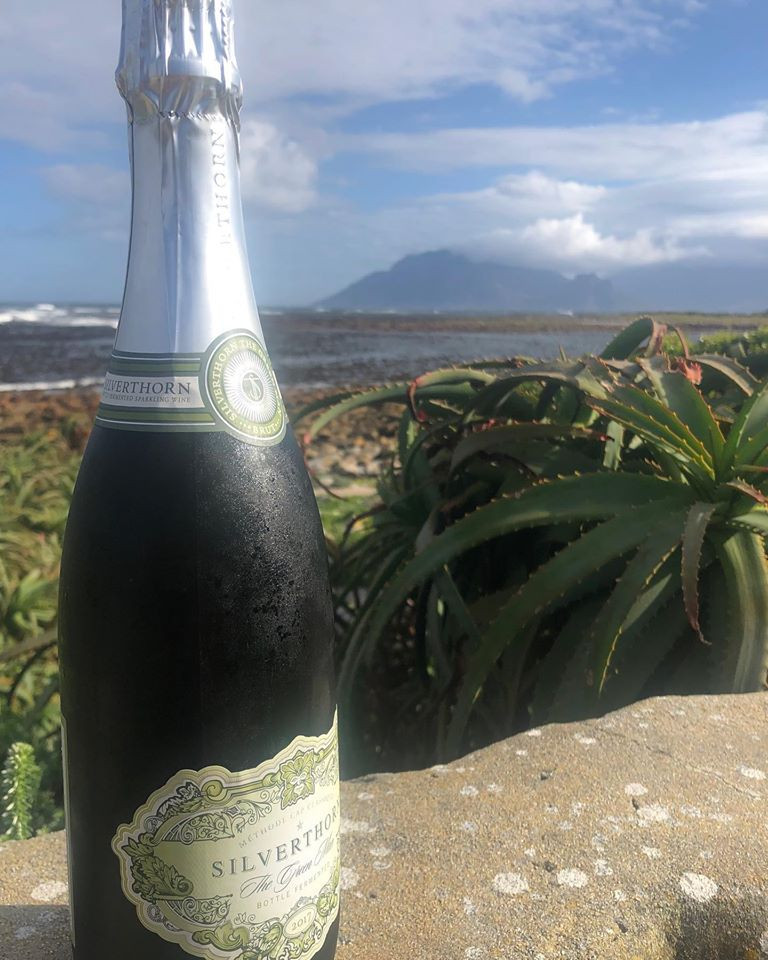 Sparkling wine from South Africa