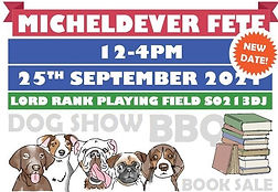 Micheldever Church Fete- Re-scheduled new date 25th Sept 2021