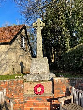 War Memorial - Micheldever Village