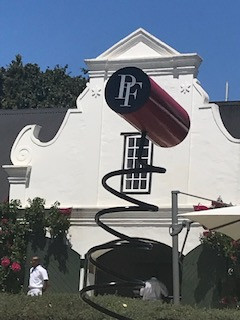 Lockdown news from Peter Falke Wine Estate