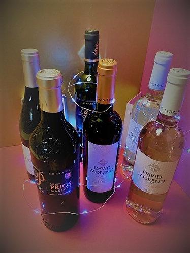 Spanish 6 Bottle Gift Selection