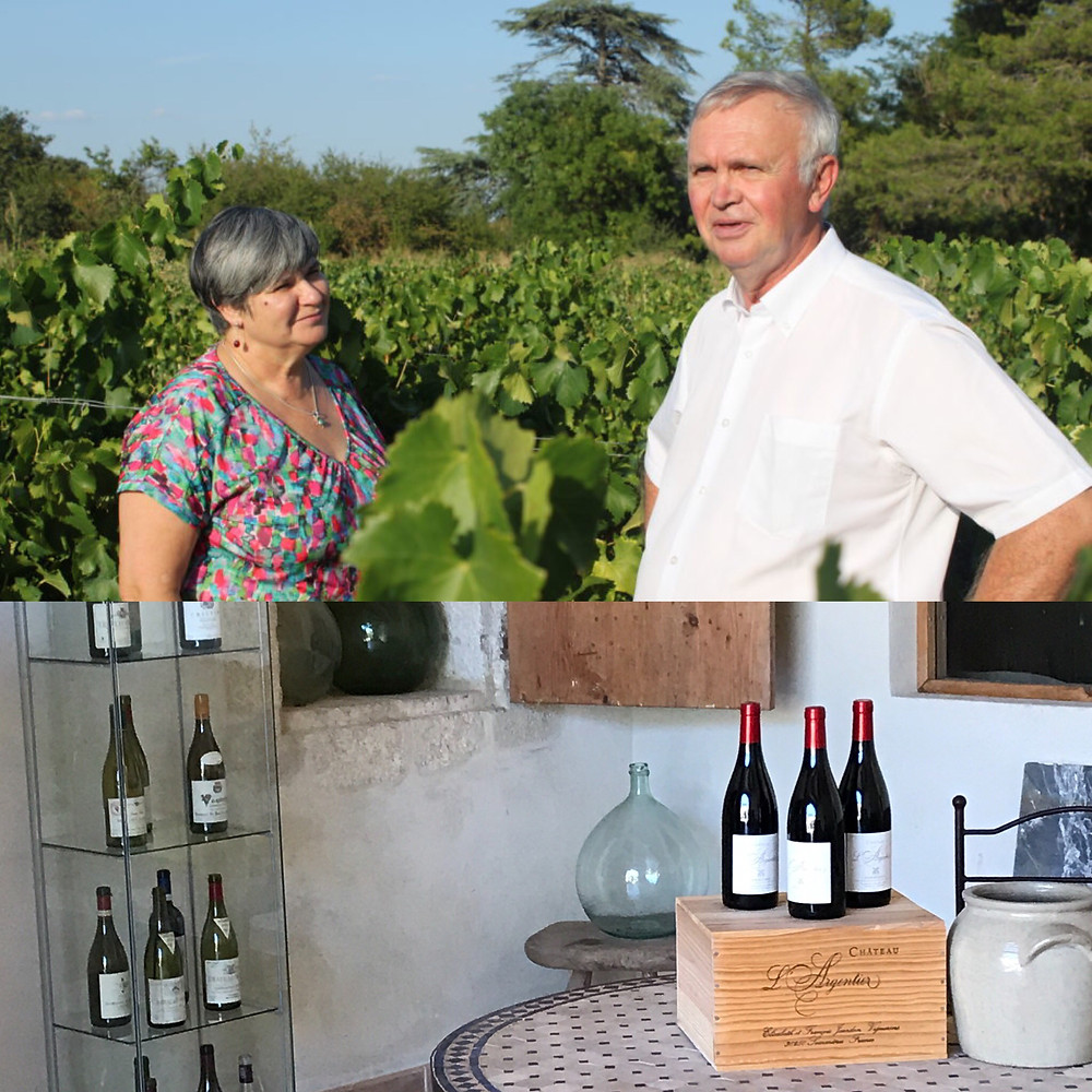 Wine tasting and buying at Chateau l'Argentier