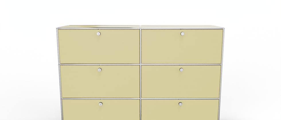 System 2020 Sideboard BHT 160/150 x 40/35 x 105 cm