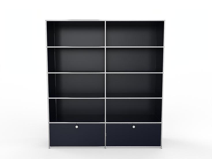 System 2020 Sideboard BHT 160/150 x 40/35 x 175 cm