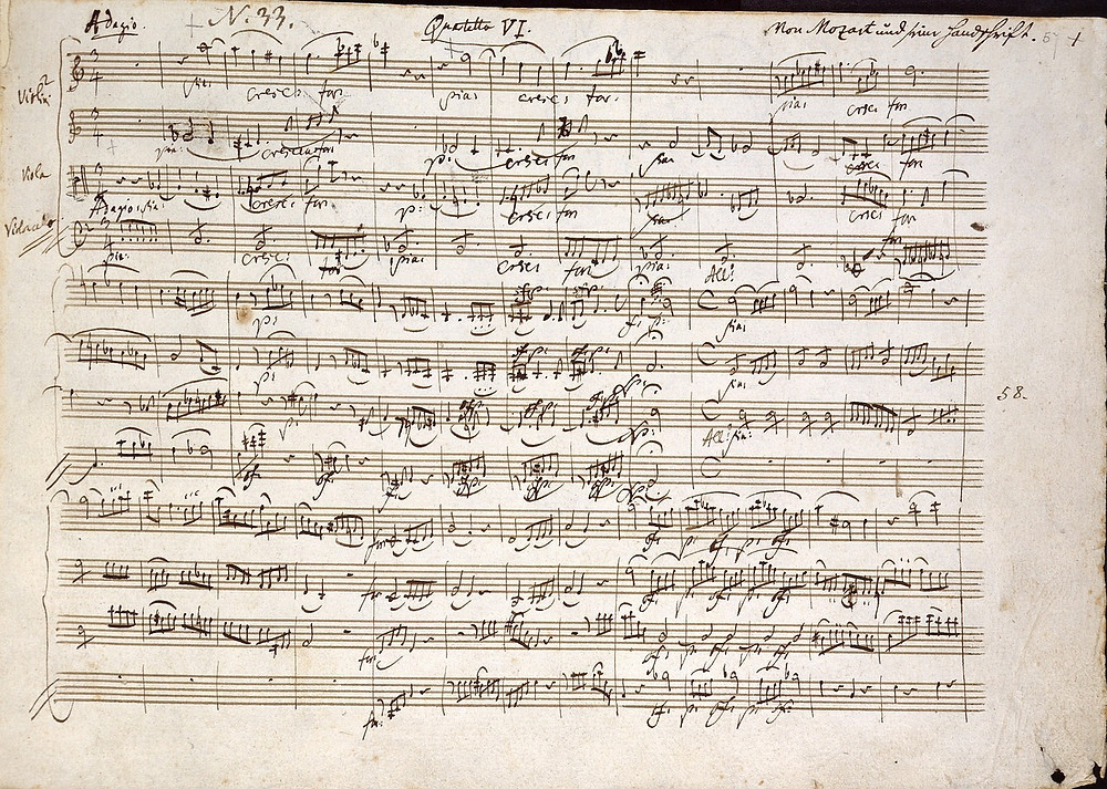 Mozart, génie créatif, créativité