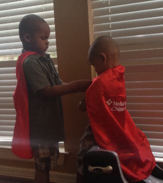 Kids think they are superheroes