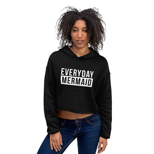 Everyday Mermaid Crop Hoodie