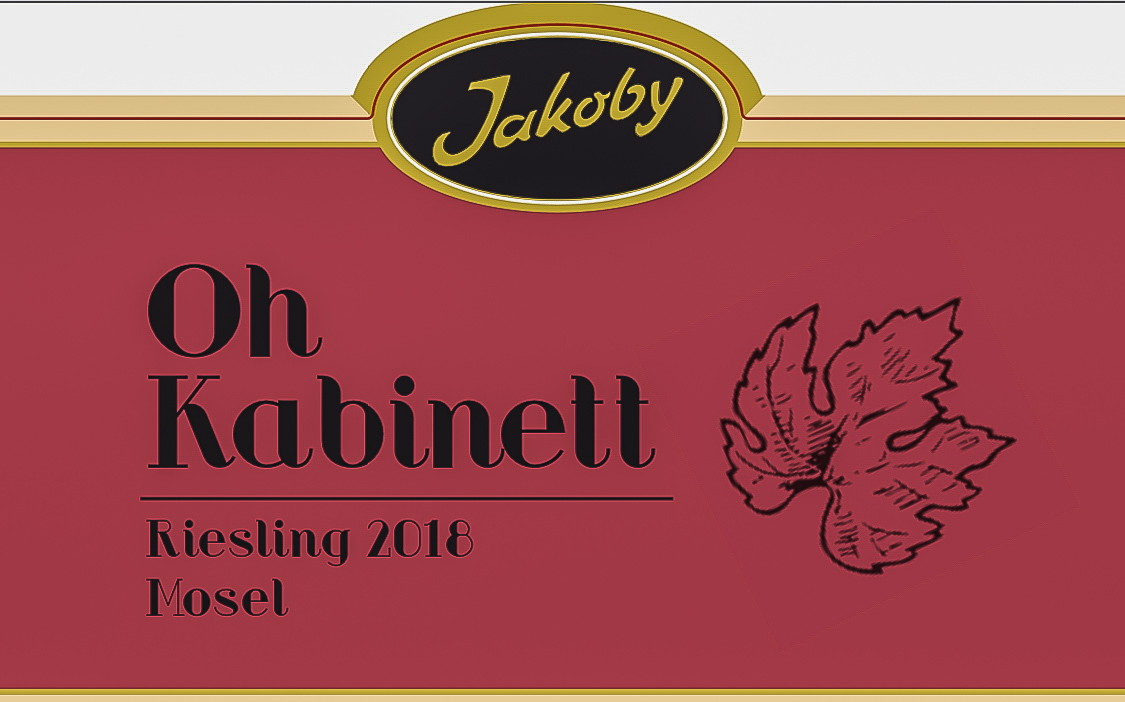 Oh Kabinett 2018 'Label