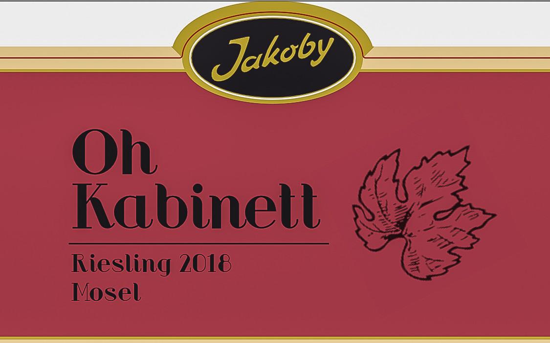 Oh Kabinett 2018' Label