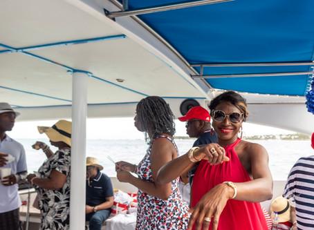 Glamorous Yetunde at Fifty: Hispaniola Aquatic Adventures Boat Ride
