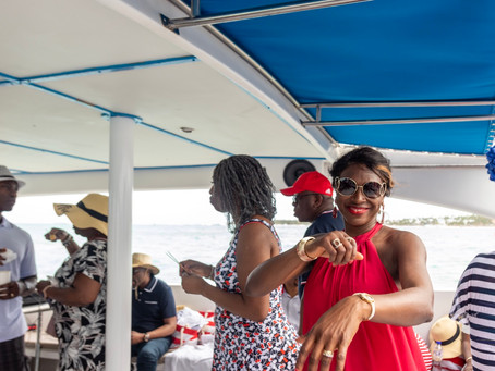 Glamorous Yetunde at Fifty: Hispaniola Aquatic Adventures Boat Ride