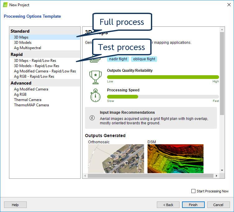 pix4d photogrammetry software setup