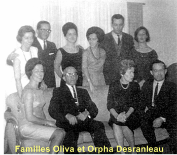 Famille Oliva Desranleau 1960