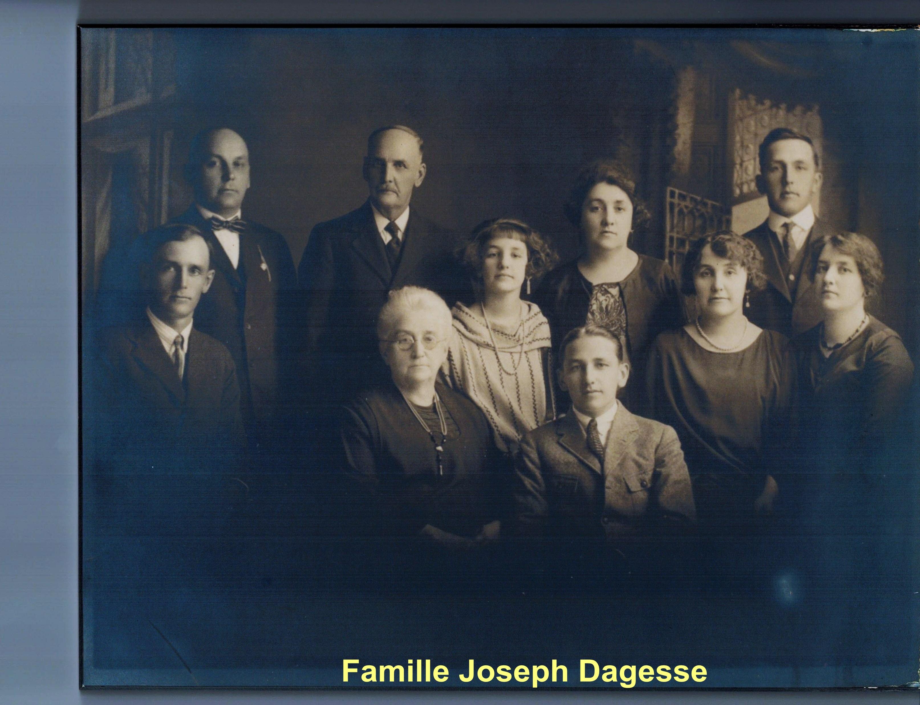 Famille Joseph Dagesse