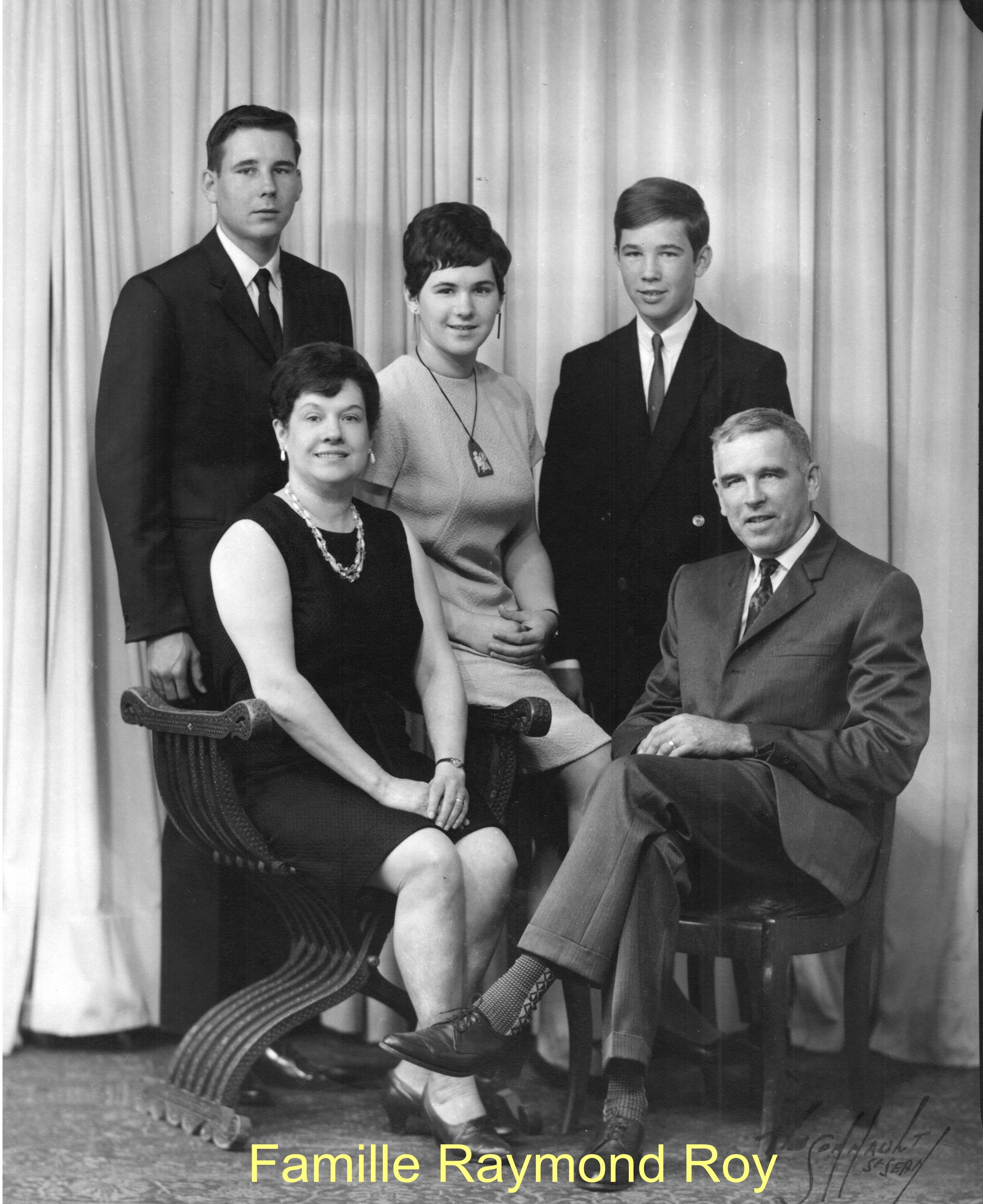 Famille Raymond Roy
