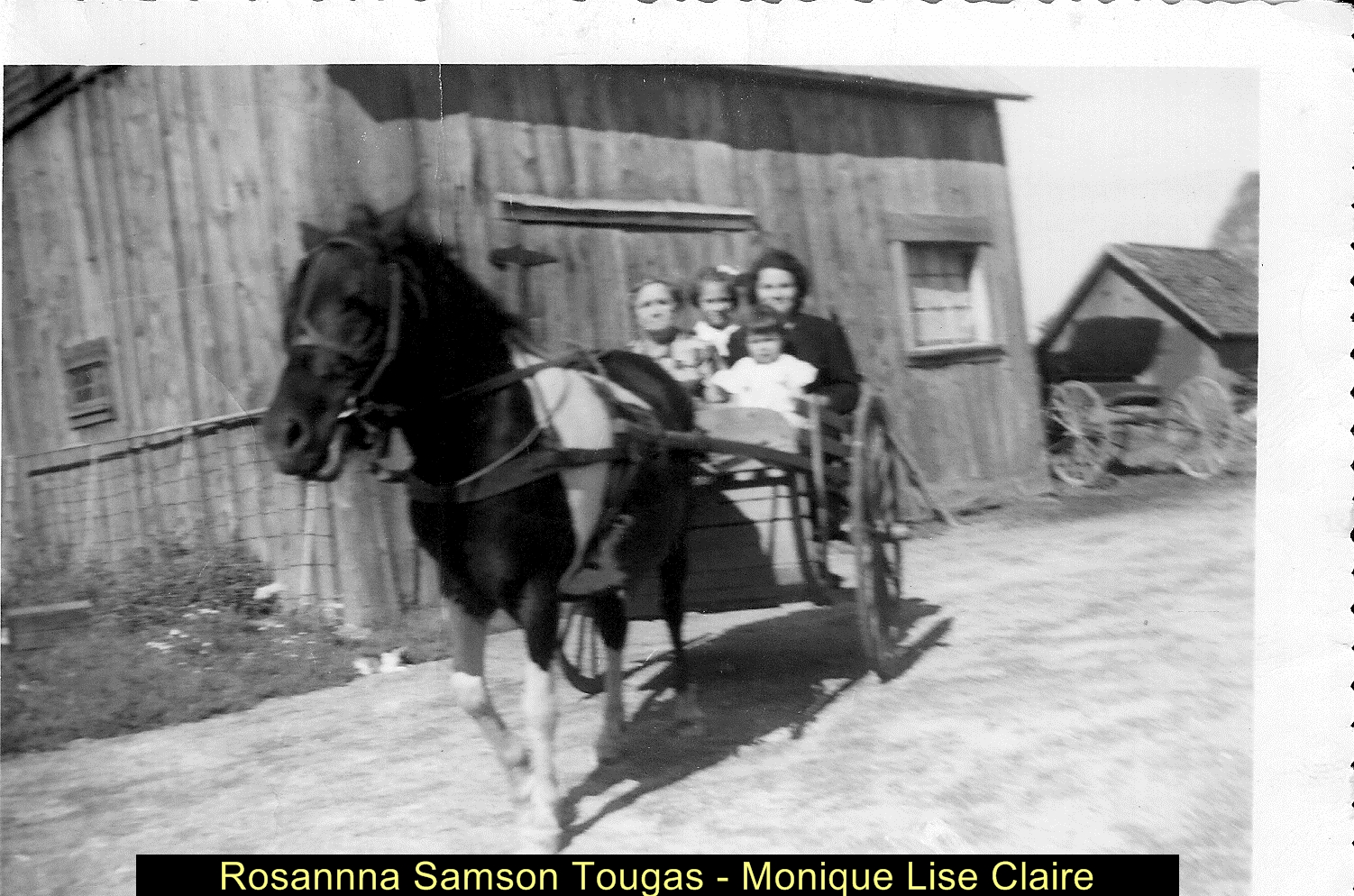 Rosannna Samson Tougas, Monique Lise Claire