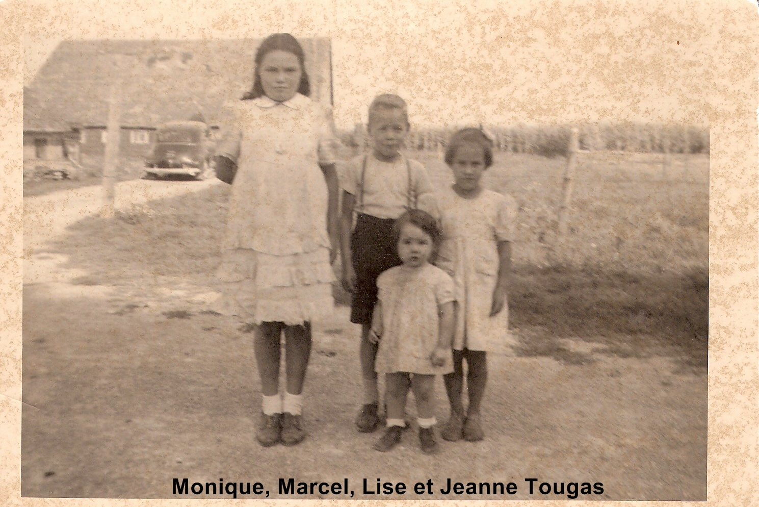 Monique Marcel Lise et Jeanne Tougas