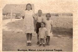 Monique Marcel Lise et Jeanne Tougas