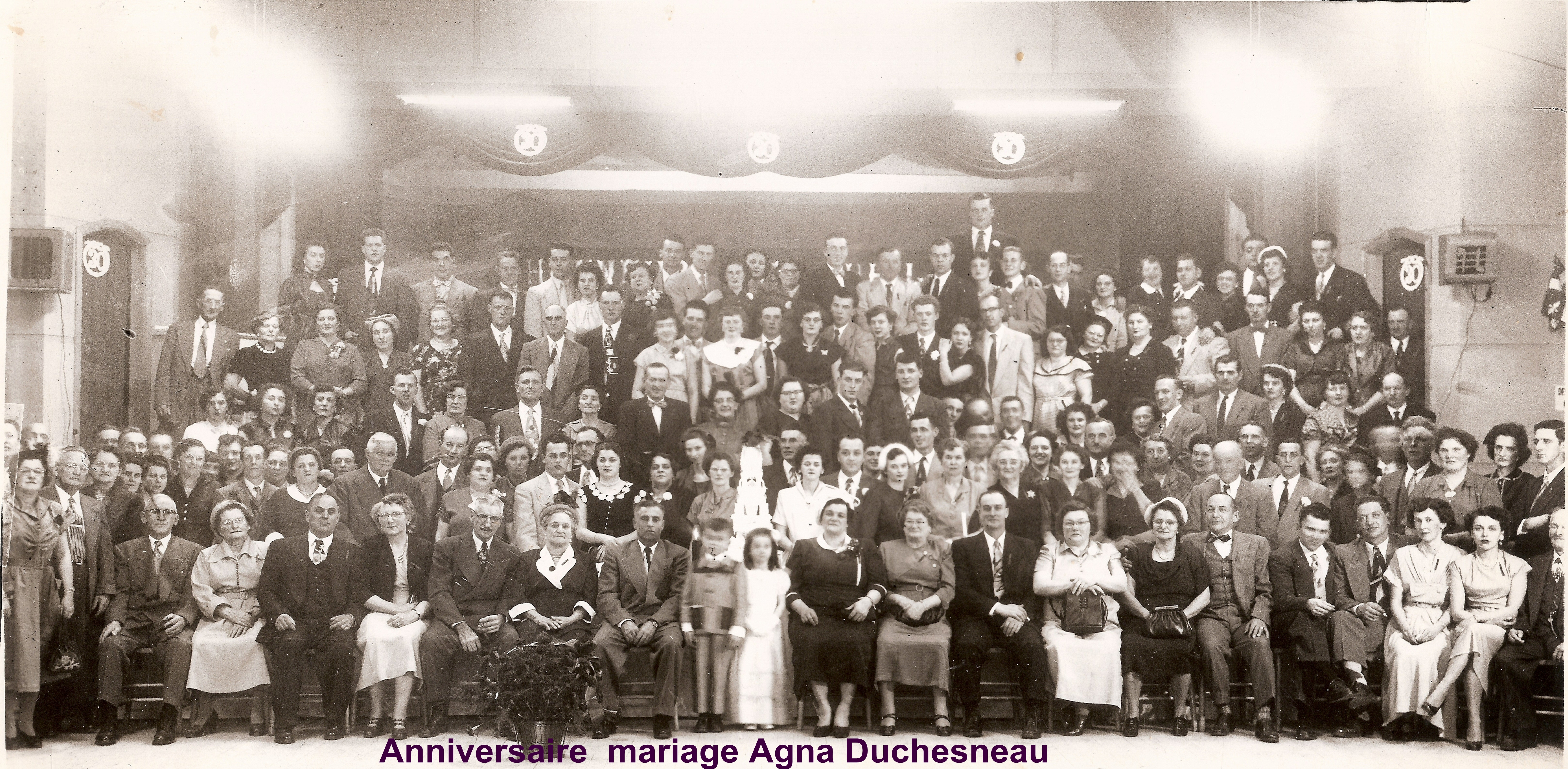 Anniversaire  mariage Agna Duchesneau