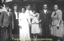 Famille Agna Duchesneaubeau