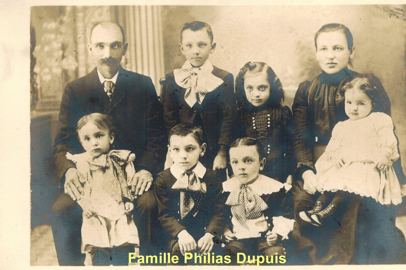Famille Philias Dupuis