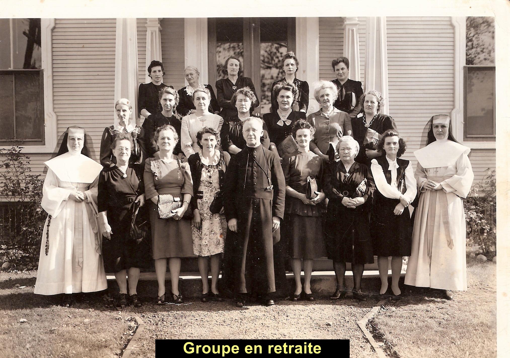 Groupe en retraite