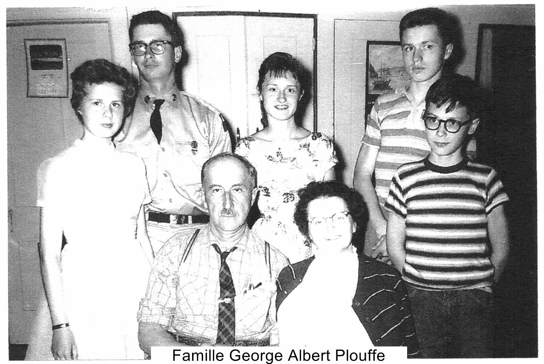 Famille George Albert Plouffe